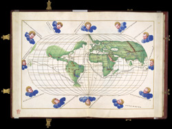 Map of the World in Two Hemispheres f. 13